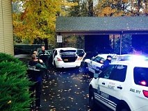 Photo Credit: COURTESY OF WILSONVILLE SHERIFF'S DEPARTMENT - A suspect with a machete, led police on a chase into an apartment complex in Sherwood Thursday morning.