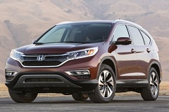 Photo Credit: HONDA AMERICA MOTOR CO., INC. - The 2015 Honda CR-V AWD Touring includes special alloy wheels and other special trim pieces.