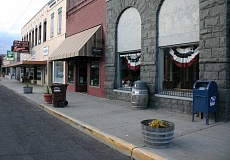 Photo Credit: JASON CHANEY - Several different ideas have been considered by the Downtown Revitalization Committee to visually enhance Prineville businesses and attract more visitors to the area.