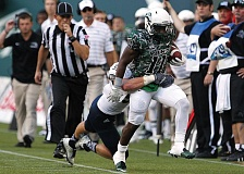 Photo Credit: COURTESY OF PORTLAND STATE UNIVERSITY - Steven Long, who graduated from Lake Oswego High, has bounced back from brain surgery to become a contributor at running back as a freshman for the Portland State Vikings.