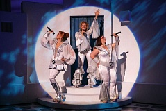 Photo Credit: COURTESY OF JOAN MARCUS - The worldwide Broadway hit Mamma Mia! comes to Portland, bringing its irresistible slew of ABBA hits, Nov. 25-30.