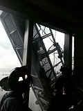 (Image is Clickable Link) Photo Credit: COURTESY OF FDNY - The NYC Fire Department tweeted this photo as crews were preparing to cut through the glass of the 68th floor of One World Trade Center to rescue two window washers. Benson Industries, Inc., manufactured 13,000 of the windows in Gresham.