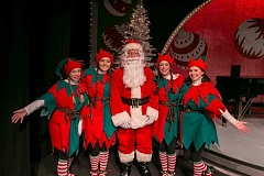Photo Credit: SUBMITTED PHOTO - Santa, his elves and Broadway performers will present a Santa Sing-a-long Nov. 29.