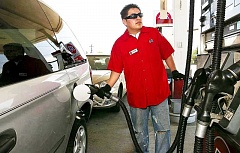 Photo Credit: PAMPLIN MEDIA GROUP - New sources of funds needed - Fuel sales are down as vehicles become more efficient and electric/hybrid cars gain popularity.