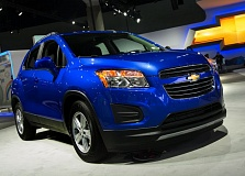 Photo Credit: TRIBUNE PHOTO BY JOHN M. VINCENT - The 2015 Chevrolet Trax is expected in dealer showrooms in the first quarter of 2015.