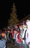 Photo Credit: FILE PHOTO: JON HOUSE - A choir sings.Children from the Middleton Music Maker Choir sing in front of Sherwood's Christmas tree in 2012