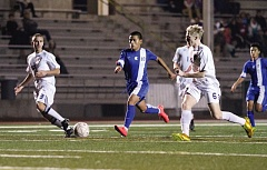 Photo Credit: HILLSBORO TRIBUNE PHOTO: AMANDA MILES - Hilhi senior Diego Canastuj (10) was a first team All-NWOC selection after scoring 11 goals this season.