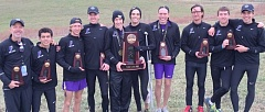 Photo Credit: COURTESY OF UNIVERSITY OF PORTLAND - The Portland Pilots raced to third place in the nation Saturday, their highest finish ever at the NCAA men's cross country championships.