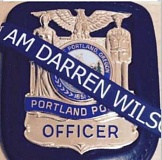 Photo Credit: KOIN 6 NEWS - Three Portland police officers posted this image on their Facebook page. Police Chief Mike reese ordered them to take it down.