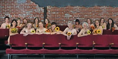 Photo Credit: COURTESY OF JEANANNE SIZEMORE/MAGENTA THEATER - To raise money for building improvements - and for publicity, women who work for Magenta Theater in Vancouver, Wash., posed for a 2015 calendar, au naturel.