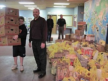 Photo Credit: SUBMITTED PHOTO - Members of Mountain Park Church have founded Take Action INC, a nonprofit organization dedicated to feeding children suffering from food insecurity. You can help them fill weekend backpacks with food this holiday season.