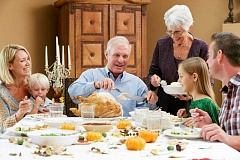 Photo Credit: SUBMITTED PHOTO - Be sure to involve the seniors at your Thanksgiving feast in conversation and activities.