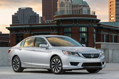 Photo Credit: AMERICAN HONDA MOTOR CONPANY, INC. - The 2015 Honda Accord Hybrid is arguably a better car than the non-hybrid version, and that's saying a lot.