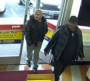 Photo Credit: CLACKAMAS COUNTY SHERIFFS OFFICE - Police say these men are suspects in the Nov. 24 theft of tobacco products from two Wilsonville convenience stores.
