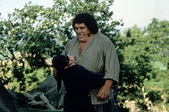 Photo Credit: SUBMITTED PHOTO - Before 'The Princess Bride' could be made, the filmmakers had to make sure they had the perfect person to play each role. One such role was that of Fezzik, played by Andre the Giant.