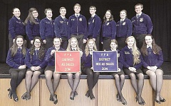 Four Canby ag sales teams competed recently.