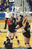 Photo Credit: PIONEER FILE PHOTO - Alexis Urbach capped off her senior volleyball season with a place on the 4A all-state team.