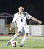 Photo Credit: NEWS-TIMES PHOTO: AMANDA MILES - Forest Grove senior midfielder Cristian Romero was recently selected to the Greater Valley Conference boys soccer all-star team.
