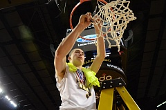 Photo Credit: VERN UYETAKE - West Linn point guard Payton Pritchard was the 6A boys player of the year last year and cut down the nets at the Rose Garden. He recently committed to the University of Oklahoma.