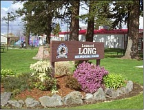 Photo Credit: CITY OF MOLALLA - City officials have noted ongoing problems in recent months with homeless issues at Long Park near the Molalla Fire station.