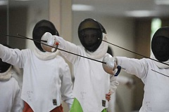 Photo Credit: SUBMITTED PHOTO - Oregon Fencing Alliance will host a three-day workshop on fencing during winter break.