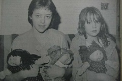 Photo Credit: ARCHIVE PHOTO BY CHRISTINE BIERMAN - The caption for this 1984 photo read: 'Eagle Creek's Carolyn Browning, age 13, (left) and Chanti Sheperd, 9, won't find these Cabbage Patch Kids dolls under the tree this Christmas. Their mother returned them to an Eagle Creek vendor after discovering that the dolls were stuffed with kerosene-soaked material which can burn easily.'