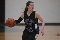 Photo Credit: THE OUTLOOK: DAVID BALL - Portland Lutheran guard Danica Roady led the team with 12 points Tuesday night.