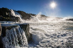 Photo Credit: PHOTO COURTESY: METRO - Willamette Falls is the second most powerful waterfall in North America.