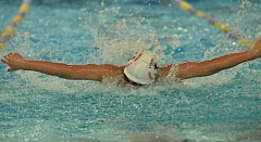 Photo Credit: VERN UYETAKE - Edward Kang returns to Lake Oswego as one of the league's top swimmers in the butterfly