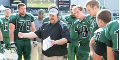 Photo Credit: COURTESY OF PORTLAND STATE UNIVERSITY - Bruce Barnum, former offensive coordinator, now has a one-year contract to be head football coach of the Portland State Vikings. 'I've never been as excited in my life,' he says.