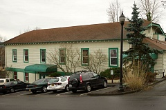Photo Credit: OUTLOOK PHOTO: TROY WAYRYNEN - The city of Troutdale is trying to figure out if renovating the 1923 City Hall building would be worth the expense.
