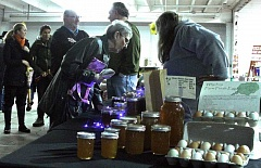 Photo Credit: NEWS-TIMES PHOTO: JOHN SCHRAG - The last indoor winter market of the season will feature produce, baked goods, meats and fish, arts and crafts, gifts, and a chance to donate to Adelante Mujeres SNAP match program.