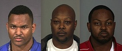 Photo Credit: PORTLAND POLICE BUREAU - from left: Vinson White, AdrianStafford, Selwyn Stafford.