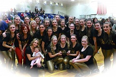 Photo Credit: SUBMITTED PHOTO  - The Sherwood Arrows Dance Team will host an upcoming clinic designed for young people where students will learn dance technique as well as two routines.