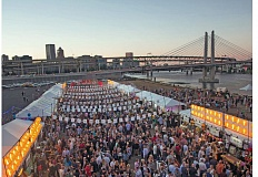 Photo Credit: COURTESY OF JOHN VALLS - Feast Portland, which included the Night Market at Zidell Yards (left), drew more than 12,000 people in 2014. Next year its scheduled for Sept. 17-20.