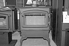 Photo Credit: TRIBUNE FILE PHOTO - A Senate committee has introduced draft legislation that would provide incentives for people to replace older woodstoves.