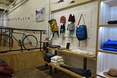 Photo Credit: JOSEPH GALLIVAN - Evo's new Portland store has ramps for wheelchairs and gear for skateboarders