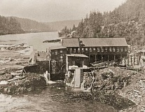 Photo Credit: SUBMITTED PHOTO: CLACKAMAS COUNTY HISTORICAL SOCIETY - The original Mill A in 1889.