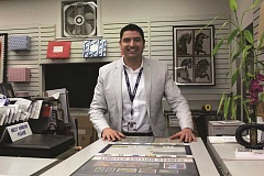 Photo Credit: TYLER FRANCKE | WOODBURN INDEPENDENT - Born and raised in Santa Barbara, Calif., Jose Dorado is Woodburn's first Hispanic postmaster, replacing Kevin McGrory, who retired in August.