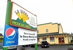 Photo Credit: GARY ALLEN - Moving on up - La Sierra Mexican Grill moved from its former location in Dundee to this much larger building next door in November. With a full bar, private party room as well as quiet seating areas, La Sierra welcomes all types of diners to its new venue.