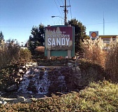 Photo Credit: CONTRIBUTED PHOTO - Sandy's got a brand new sign.
