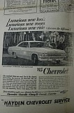 Photo Credit: ARCHIVE PHOTO - This ad claimed the 65 Chevrolet 'actually feels expensive.'