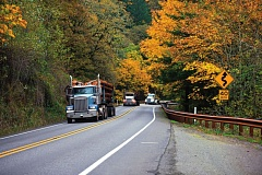 Photo Credit: DREAMSTIME PHOTO - Most Oregon-based trucks are older models that emit diesel soot, a known carcinogen.