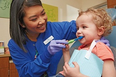 Photo Credit: COURTESY: KAISER PERMANENTE - Establishing good dental health habits at an early age is critical for long-term health.