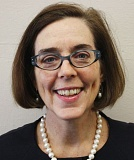 Secretary of State Kate Brown.