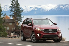 Photo Credit: JOHN M. VINCENT - The 2016 Kia Sorento is equally at home in the city and the county.