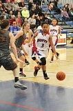 Photo Credit: JEFF WILSON/THE PIONEER - Recently called up to the varsity level, Madras freshman Kaliyah Iverson has seen plenty of playing time over the last week.