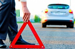 Photo Credit: COURTESY AARP - Always carry roadside signals in your car in car of a breakdown on the road.