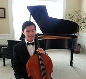 Photo Credit: SUBMITTED PHOTO - Paul Lee, 15, began playing cello at the age of 10 under Hyun-Jin Kim and is now a member of the Portland Youth Philharmonic.