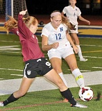 Photo Credit: FILE PHOTO - Next level - Newberg senior Dallin Esmond signed to play for Portland State University, where she will have a chance to start as a  freshman after the Division-1 Vikings graduated five defenders.